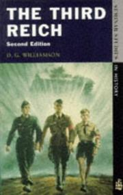 The Third Reich by D. G. Williamson
