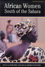 Cover of: African women south of the Sahara