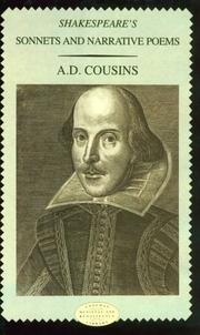 Cover of: Shakespeare's sonnets and narrative poems