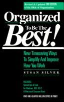 Cover of: Organized to be the best!