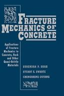 Cover of: Fracture mechanics of concrete