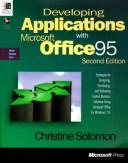 Cover of: Developing applications with Microsoft Office 95