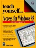 Cover of: Teach yourself...Access for Windows 95