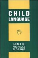 Cover of: Child language