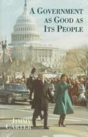 Cover of: A government as good as its people | Jimmy Carter