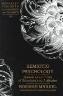 Cover of: Semiotic psychology