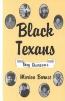 Cover of: Black Texans