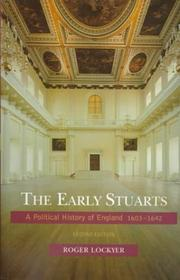 Cover of: early Stuarts | Roger Lockyer