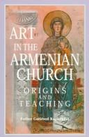 Cover of: Art in the Armenian Church