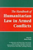 The handbook of humanitarian law in armed conflicts