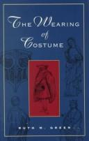 Cover of: The wearing of costume