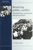 Cover of: Resolving Public Conflict
