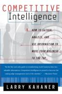 Cover of: Competitive intelligence