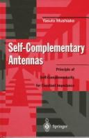 Cover of: Self-complementary antennas