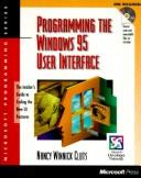 Cover of: Programming the Windows 95 user interface