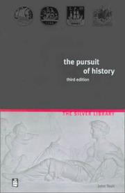 Cover of: The pursuit of history | John Tosh