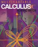 Cover of: Multivariable calculus