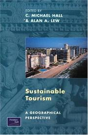 Cover of: Sustainable tourism