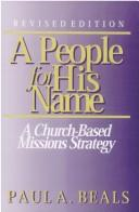 Cover of: people for his name | Paul A. Beals