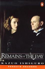 Cover of: Remains of the Day