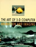 Cover of: The art of 3-D computer animation and imaging