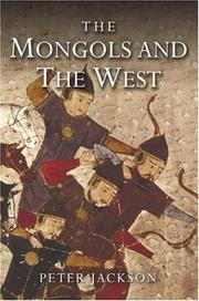 Cover of: The Mongols and the West | Peter Jackson