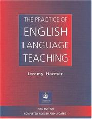 Cover of: The Practice of English Language Teaching | Jeremy Harmer