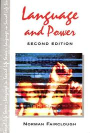 Cover of: Language and Power (Language in Social Life)