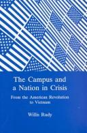 Cover of: The campus and a nation in crisis
