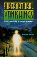 Cover of: Supernatural vanishings