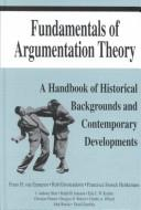Cover of: Fundamentals of argumentation theory