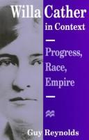 Cover of: Willa Cather in context