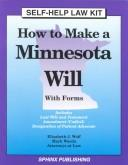 Cover of: How to make a Minnesota will