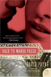 Cover of: Back to Wando Passo | David Payne