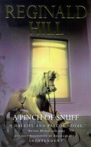 Cover of: A Pinch of Snuff (Dalziel & Pascoe Novel)