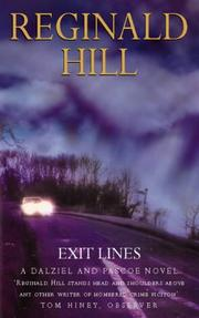 Cover of: Exit Lines: A Dalziel-Pascoe Murder Mystery
