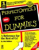 Cover of: PerfectOffice 3 for dummies