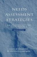 Cover of: Needs assessment strategies for health education and health promotion