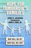 Cover of: Hope for tomorrow's families
