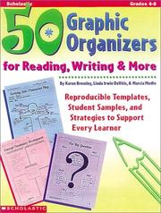 Cover of: 50 Graphic Organizers for Reading, Writing & More (Grades 4-8) | Linda Irwin-DeVitis