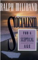 Cover of: Socialism for a sceptical age