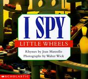 Cover of: I spy little wheels