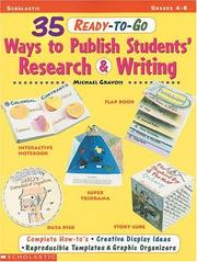 Cover of: 35 ready-to-go ways to publish students' research and writing