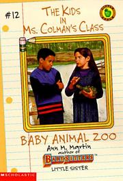 Baby Animal Zoo (Kids in Ms Colmans Class)