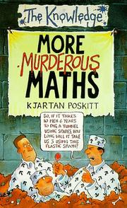 Cover of: More Murderous Maths (Knowledge)