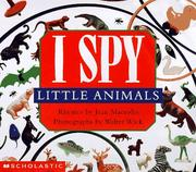Cover of: I spy little animals