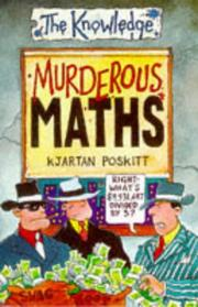 Cover of: Murderous Maths