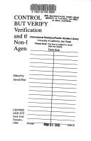 Cover of: Control but verify