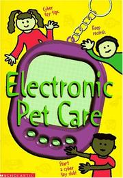 Cover of: Electronic Pet Care