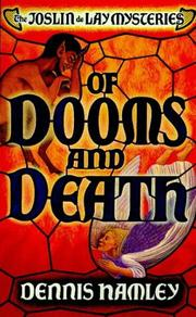 Cover of: Of Dooms and Death (Point Crime: The Joslin De Lay Mysteries)
